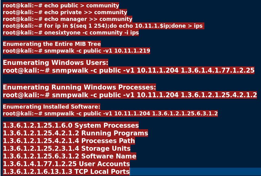 Enumeration – Tech Xploits